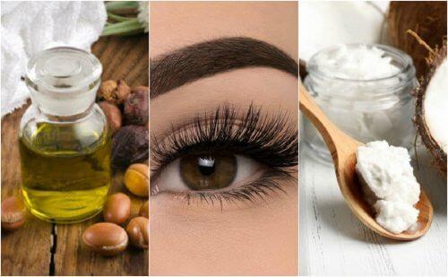 6 uleiuri vegetale pentru gene frumoase