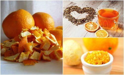 5 utilizări alternative ale cojilor de portocale