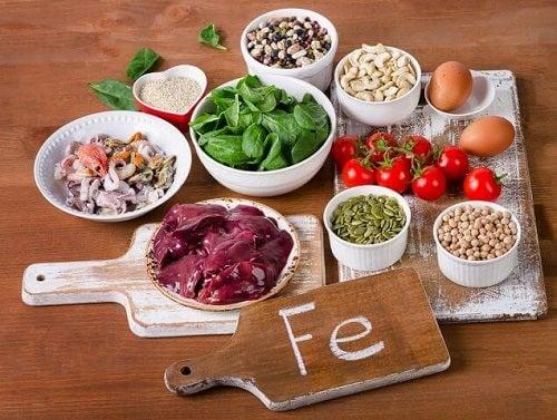 Alimente care fortifică sistemul imunitar și sunt bogate în fier