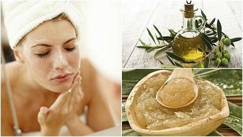 5 tratamente cu ulei de măsline pentru piele