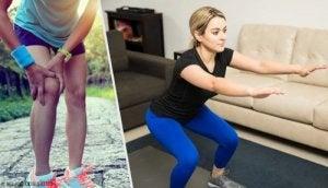 Articulațiile rănite din frânghii de sărituri. Dureri in spatele genunchilor: cauze si remedii