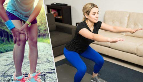 5 trucuri și exerciții pentru întărirea genunchilor
