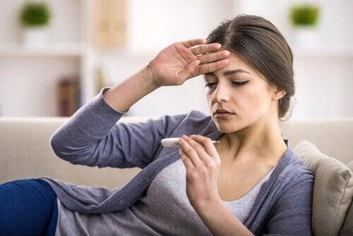 Febră provocată de boli cu transmitere sexuală