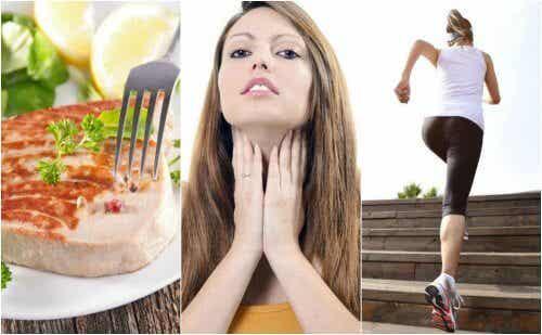6 obiceiuri pentru îmbunătățirea funcției tiroidiene