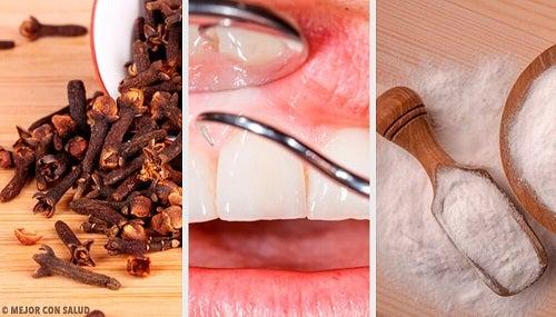 5 remedii naturiste pentru gingiile inflamate