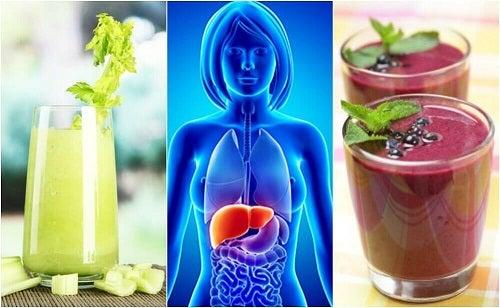 4 smoothie-uri pentru curățarea ficatului
