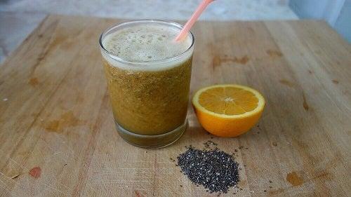 Suc pentru curățarea naturală a intestinelor cu ingrediente ecologice