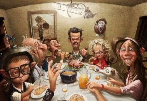 Tipuri de familii toxice în care domnește haosul