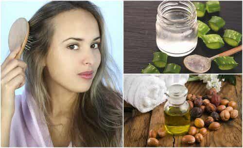 5 tratamente pentru părul subțire