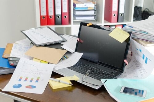 Nevoia de trucuri pentru o casă mai organizată în camera de birou