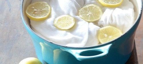 Utilizări alternative ale lămâilor pentru spălarea rufelor