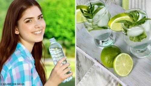 7 trucuri pentru a bea apă mai frecvent