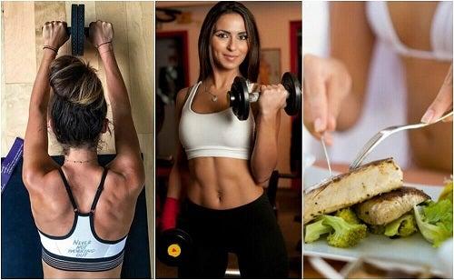 Cum să îți dezvolți masa musculară și să arzi grăsimile