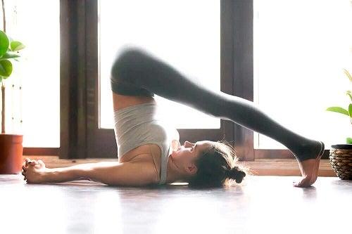 Exerciții împotriva gazelor intestinale puțin mai dificile