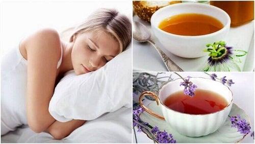 5 ceaiuri pentru un somn mai odihnitor