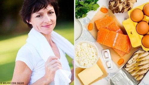 6 nutrienți necesari după 40 de ani
