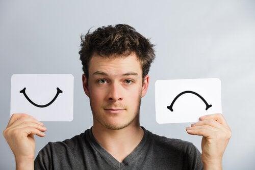 Bărbat care descoperă ce înseamnă să suferi de tulburarea bipolară