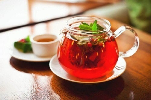Ceai de sarsaparilla pentru tratarea psoriazisului