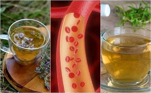 5 ceaiuri pentru curățarea arterelor