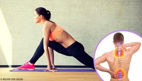 6 exerciții pentru tonifierea spatelui