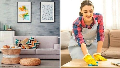 5 obiceiuri pentru o locuință ordonată