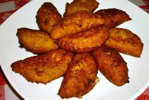 Delicioase umpluturi pentru bananele plantain prăjite
