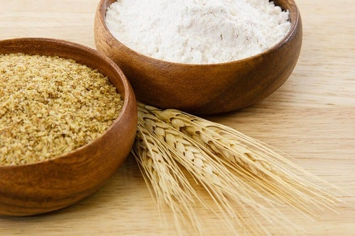 Germeni de grâu ca ingredient într-o mască naturală cu efect de lifting