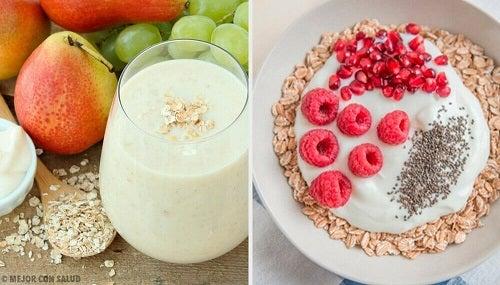 Metabolism accelerat cu 4 tipuri de mic dejun cu ovăz