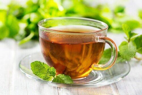 Remedii cu frunze de mentă sub formă de ceai