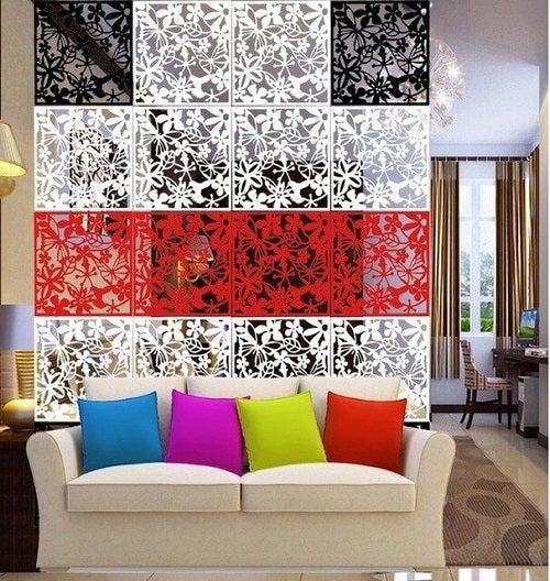 Separatoare de cameră elegante în stil asiatic