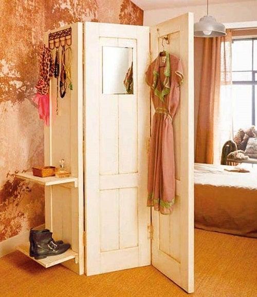 Separatoare de cameră elegante în stil vintage