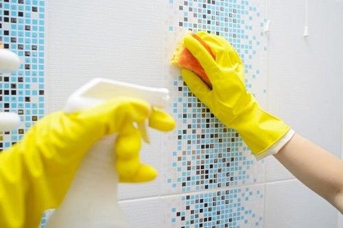 Soluții și trucuri pentru a dezinfecta baia