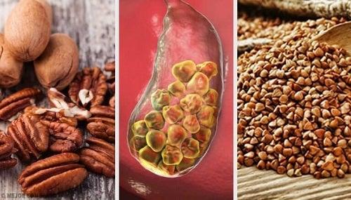 6 alimente care combat calculii biliari