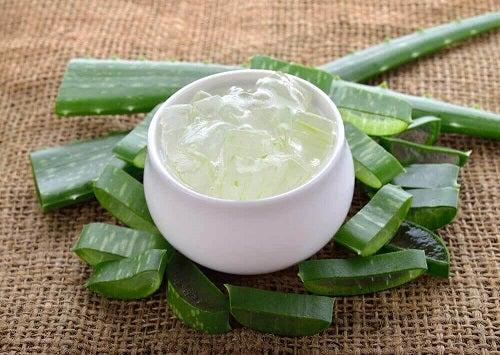Aloe vera inclus în remedii naturiste pentru pleoapele căzute