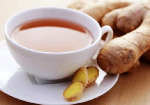Ceaiul de ghimbir pe lista de remedii naturale pentru tuse la copii