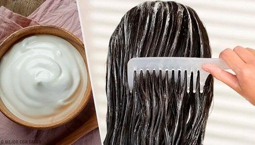 Cum să stimulezi creșterea părului cu maioneză