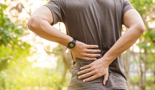Factori specifici pe lista de cauze ale durerilor de spate