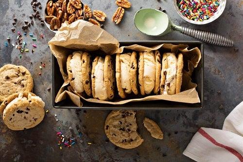 Fursecuri cu nuci pe lista de rețete de dulciuri pentru diabetici