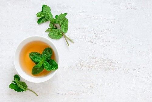 Ceaiul de mentă pe lista de ceaiuri care tratează tusea