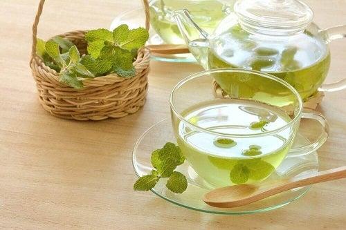 Mentă inclusă în ceaiuri pentru detoxifierea colonului