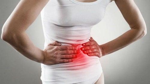 Pacientă care are nevoie de trucuri pentru a trata gastrita
