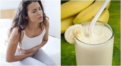 Remediu pentru ulcer - shake-ul de banane și cartofi