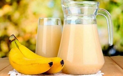 Remediu pentru ulcer cu shake de banane și cartofi