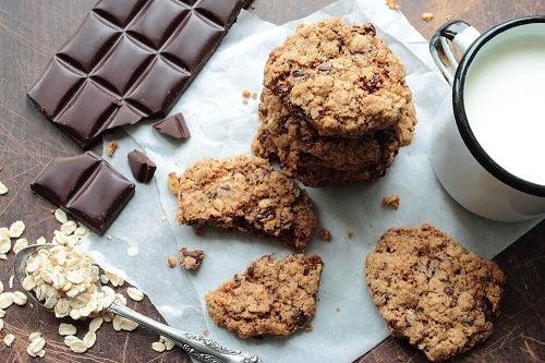 Rețete cu fulgi de ovăz și ciocolată