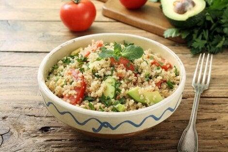 scădere în greutate folosind quinoa