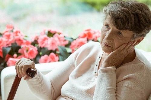 Semnele bolii Alzheimer la bătrânețe