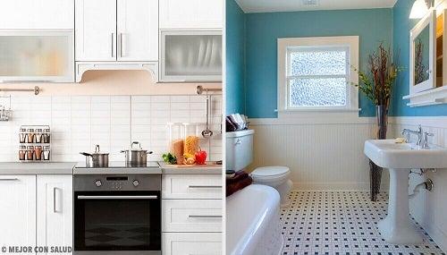 Cum să elimini mirosurile neplăcute din bucătărie și baie