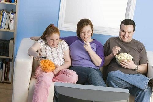 Tipuri de obezitate care afectează întreaga familie