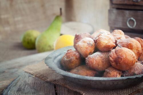 Dulciuri fără zahăr, cum ar fi gogoși la cuptor