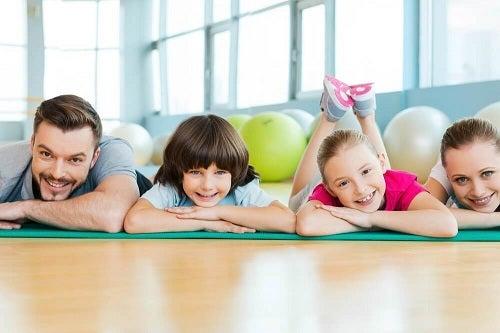Exerciții fizice ca remediu pentru lipsa poftei de mâncare la copii